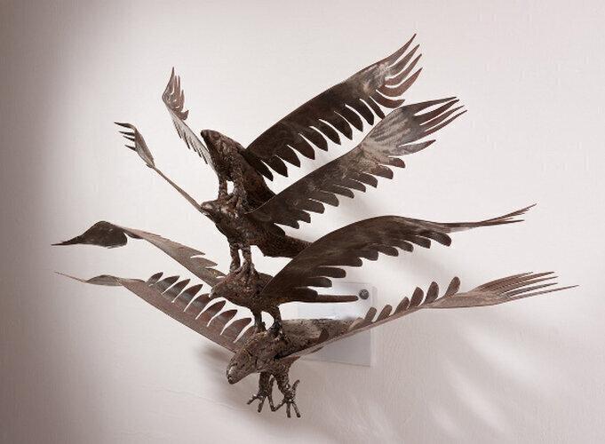 גלריה GH גבעת חביבה לאמנות / המגביה עוף / צביקה אלטמן