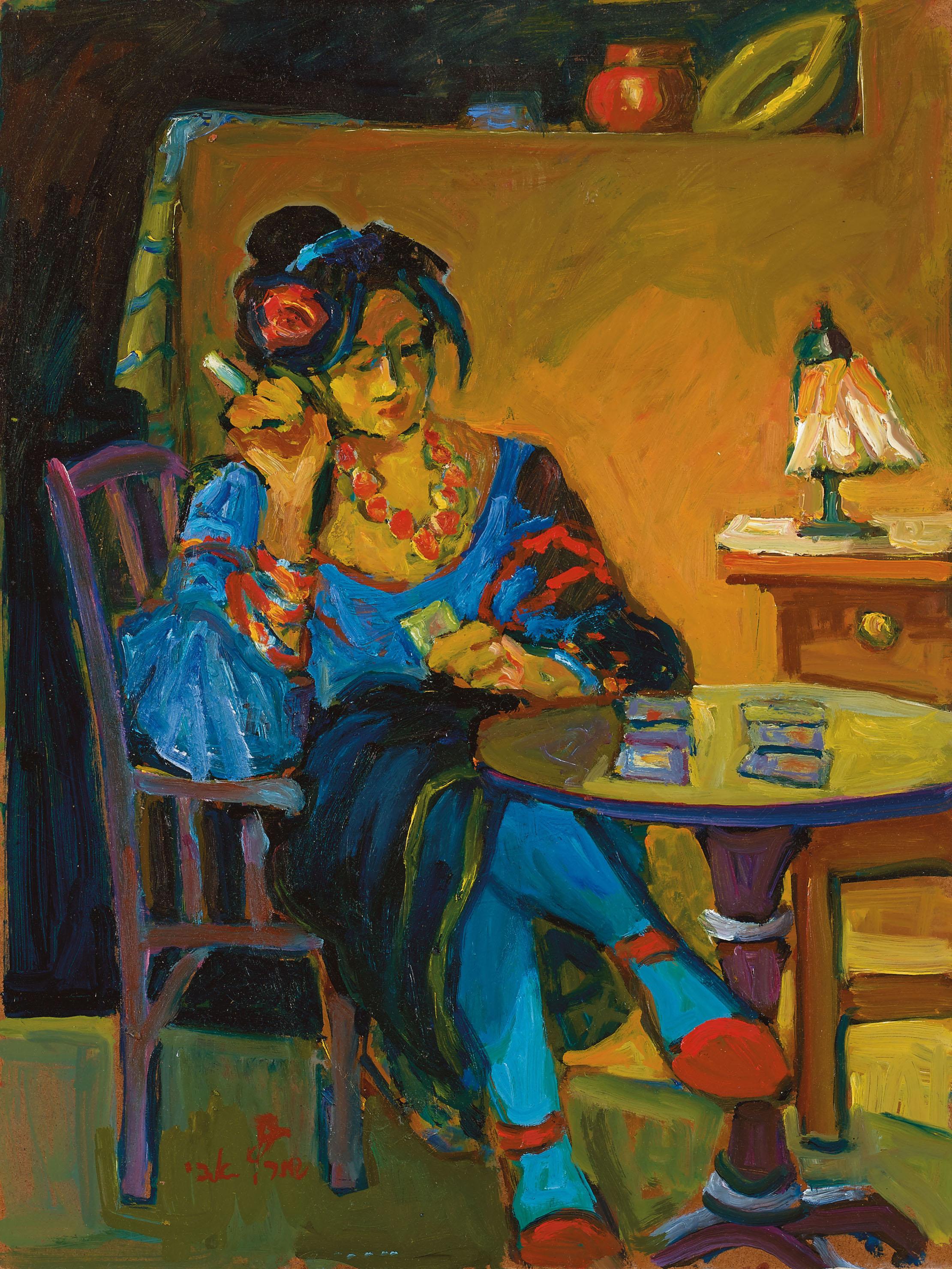 גלריית הציפור הכחולה / אבי שוורץ -אמן ארצישראלי