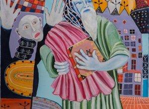 סינמטק תל אביב / תערוכת יחיד לאמן הישראלי והבינלאומי יונתן בן אלי