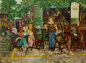 גלריית בית סילבר / בבואות -  תערוכת יחיד של האמנית חנה לוי
