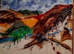 zoa בית ציוני אמריקה / התמודדות - תערוכת יחיד של האמנית נילי אחיעזר